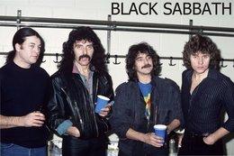 Black Sabbath Rock Band Original Postcard In Near Mint Condition. 014 - Postcards
