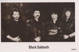 Black Sabbath Rock Band Original Postcard In Near Mint Condition. 015 - Postcards