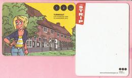 Bierviltjes - Turnhout Cultuurstad Van Vlaanderen 2012 - Kiekeboe Strip - Begijnhof - Sous-bocks