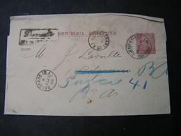Argentina , Nice Impreso  1880  ..to Italy - Ganzsachen