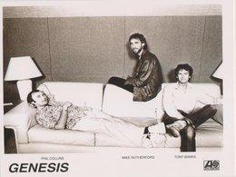 Genesis Original Promo Postcard In Near Mint Condition. - Cartes Postales