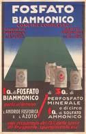 """07601 """"FOSFATO BIAMMONICO - MONTECATINI - LOCANDINA  PUBBLICITARIA"""" ORIG. 1935 - XIII - Pubblicitari"""