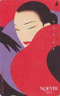 Télécarte Japon / 110-36065 - FEMME ** NOEVIR COSMETICS ** - Woman Girl Japan Phonecard - FRAU TK - 3716 - Parfum
