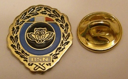 POLICE BSN BRIGADE De SURVEILLANCE NOCTURNE CHOUETTE HIBOU Pin Pin's Pins - Police