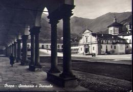 Oropa - Santuario E Piazzale - 6 - Formato Grande Viaggiata – E 9 - Vercelli