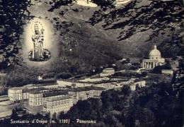Santuario D'oropa - Panorama - Formato Grande Viaggiata – E 9 - Vercelli
