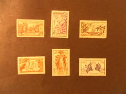 INDOCHINE YT 193/198 EXPOSITION DE PARIS 1937* - Neufs