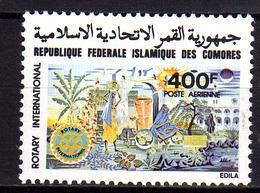 Comores P.A.  N° 163 X Rotary International, Trace De Charnière Sinon TB - Comores (1975-...)