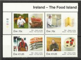 IRELAND 2015 THE FOOD ISLAND SET MNH - 1949-... Repubblica D'Irlanda