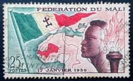 1959 Mali Mi 1, Yt 1 .Establishment Of Mali Federation  . Oblitéré Used - Mali (1959-...)