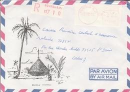 LSC 1982 - Recommandé - NOUMEA   R.P.  - LSA-EMA  22.12.82 - Sonstige