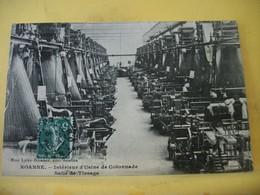 L11 4707 CPA 1910 - 42 ROANNE. INTERIEUR D'USINE DE COTONNADE. SALLE DE TISSAGE. - Industry