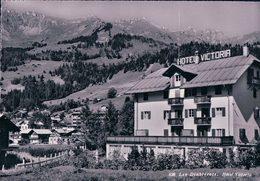 Les Diablerets, Hôtel Victoria (638) 10x15 Pli D'angle - VD Waadt