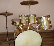 Vintage Drums Schlagzeug Genuine Drum Set WOODiNG MEAZZi Hollywood 1960 RAR Last - Instruments De Musique