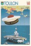 CPM - TOULON (Var) - Marine Nationale -  Le Porte-avions Charles De Gaulle - Matériel