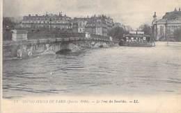 75 - Inondations De Paris Janvier 1910 - Le Pont Des Invalides - Paris Flood, 1910