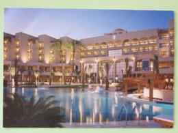 Jordan (Ukraine) 2018 Postcard To Nicaragua - Hotel Aqaba Jordan - Jordanie