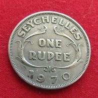 Seychelles 1 One Rupee 1970 KM# 13  Seychellen Seicheles - Seychelles