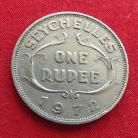 Seychelles 1 One Rupee 1972 KM# 13  Seychellen Seicheles - Seychelles