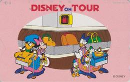 Télécarte Japon / 110-179759 - DISNEY JAL ON TOUR - JAPAN AIRLINES Phonecard / Aviation Avion - Disney