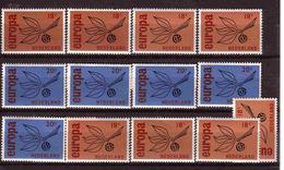 407a * NIEDERLANDE 848/9 * 5x EUROPA * MICHEL 3,10 * POSTFRISCH **!! - 1949-1980 (Juliana)