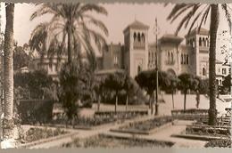 Spain & Circulated, Greetings From Sevilla, Jardines Y Plaza De America, Almada Portugal 1954 (18) - Souvenir De...
