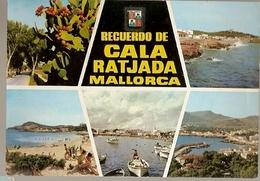 Spain & Circulated, Greetings From Mallorca, Recuerdo De Cala Ratjada, Berlin Alemania 1969 (1824) - Souvenir De...