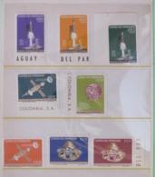 Paraguay 1964 MINT Unperforated Set Space - Paraguay