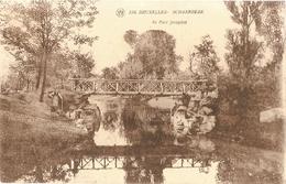 Belgium & Circulated, Greetings From  Parc Josaphat Schaerbeek Bruxelles, Gent 1933 (236) - Souvenir De...