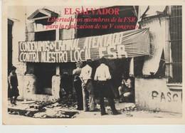 C.P.A. - EL SALVADOR - LIBERTADA LOS MIEMBROS DE LA F. S. R. PARA LA REALIZACION DE SU V CONGRESO - 1984 - Salvador