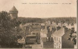 France & Circulated, Greetings From Laval, Vue Générale Prise Du Jardin De La Perrine, Paramé France 1910 (2378) - Souvenir De...