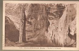 France & Circulated, Greetings From Doubs, Grotte D'Osselle, La Salle De Danse, Paris 1936 (7152) - Souvenir De...