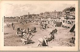 France ** & Postal, Greetings From  Les Sables De Olonne, La Plage (112) - Souvenir De...