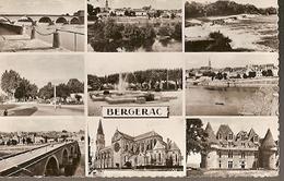 France & Circulated, Greetings From Bergerac, Multi Views, Montélimar France 1969 (4333) - Souvenir De...
