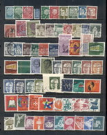 Germany 1960's -90's Assorted Oddments 8 Scans - Stamps