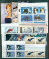 World Assorted Oddments, New Hebrides, Germany MS 4 Scans - Stamps