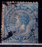 Spain, 1876, War Tax, Alfonso XII, 10c,sc#MR6, Used - Kriegssteuermarken