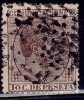 Spain, 1878, Alfonso XII, 10c, Sc#234, Used - 1875-1882 Kingdom: Alphonse XII
