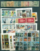 World Assorted Oddments 6 Scans - Stamps