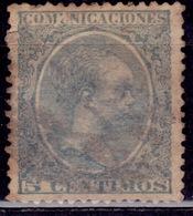 Spain, 1899, Alfonso XIII, 5c, Sc#258, Used - Gebraucht