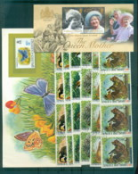 World Assorted Oddments 5 Scans - Stamps