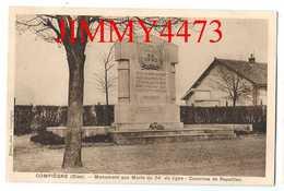 CPA - Monument Aux Morts Du 54è De Ligne - Casernes De Royallieu - COMPIEGNE 60 Oise - Edit. Hutin , Phot. - Monuments Aux Morts