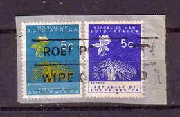 411a * SÜDAFRIKA * BRIEFAUSSCHNITT * GESTEMPELT **!! - Südafrika (1961-...)