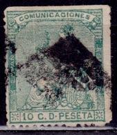 "Spain 1873, ""Espana"", 10c, Sc#193,  Used - Gebraucht"