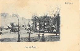 Amiens - Place St Saint Denis - Carte Dos Simple Non Circulée - Amiens