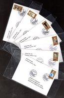 """"""" LES OPERAS DE MOZART """" Sur 6 Enveloppes 1er Jour De 2006 De La Collection """" CACHETS PREMIER JOUR """" N° YT 3917 à 3922. - Musique"""