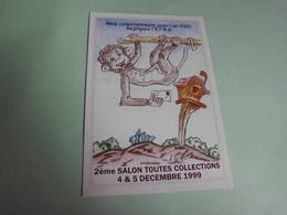 2E SALON TOUTES COLLECTIONS 1999 ...VILLEMOMBLE - Bourses & Salons De Collections