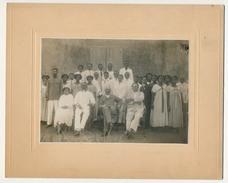 Photographie Originale - Colon Et Sa Maisonnée - DIEGO SUAREZ - M. Belissant - Personnes Identifiées