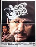 AFF CINE ORIG NEUVE QUELQU'UN DERRIERE LA PORTE (Bronson-Perkins) 80X60 1971 - Posters