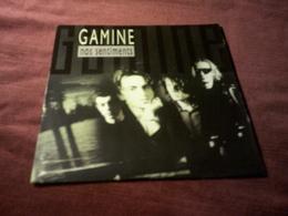 GAMINE  ° NOS SENTIMENTS - Vinyles